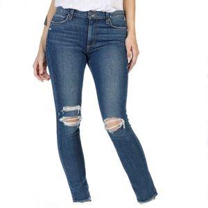 Paige Vintage Hoxton High Waist Ankle Peg Jeans 30
